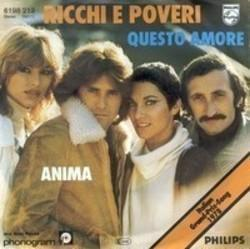 Listen free song Ricchi E Poveri E Io Mi Sono Innamorato online on your cell phone, tablet or PC without registration.